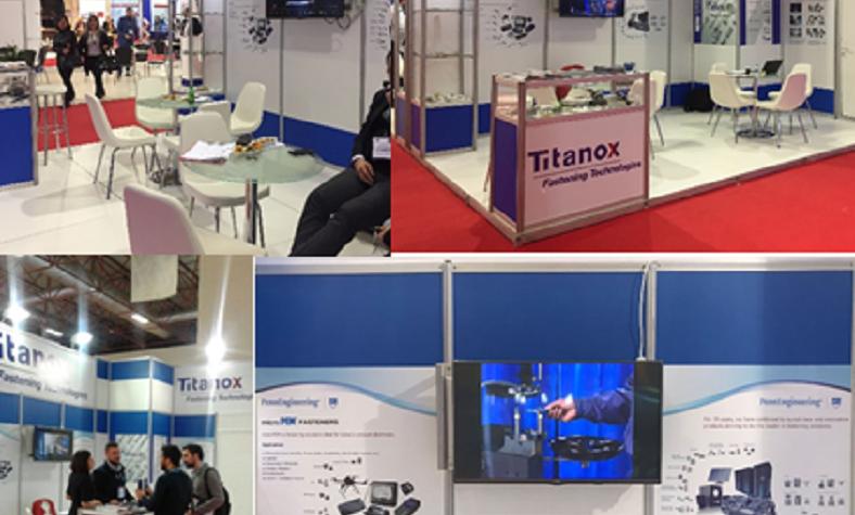 TITANOX Turkey at Fastener Fair 2018 in Istanbul