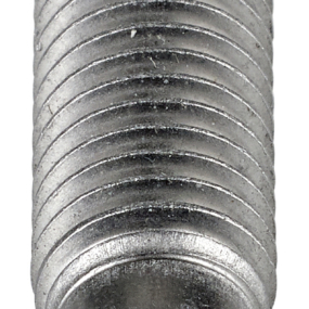 Welding studs for drawn arc welding, reduced base in soft steel or stainless steel
