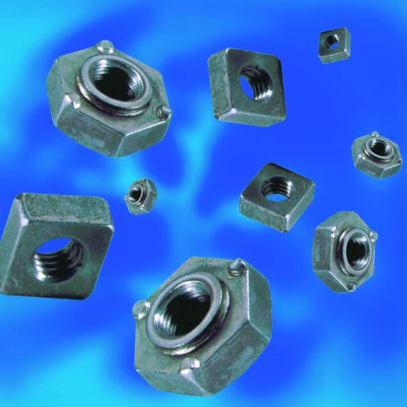 Ecrous à souder hexagonaux DIN929 acier ou inox