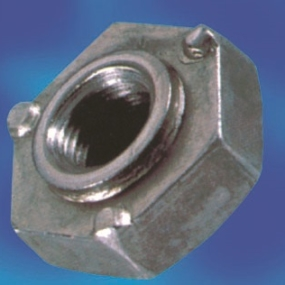 Square welding nuts DIN928 mild steel or stainless steel