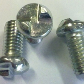 Burglar proof screws