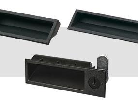 Flush/low-profile handles