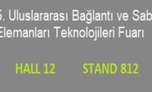 Titanox Tuyap Türkiye'de 2020 Bağlantı Elemanları Fuarı'nda