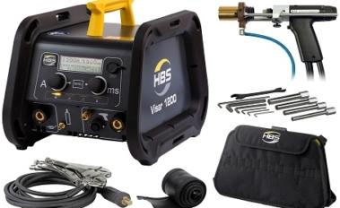 A new HBS – VISAR 1200 pin welding machine